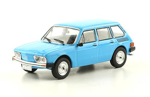 volkswagen Brasilia 4P 1975 1:43, volkswagen collection, colección volkswagen méxico