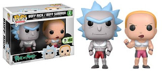 Pop! Animation: Rick & Morty - Buff Rick & Summer 2-pack