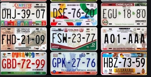 Ejemplos de Consulta de Placas de Autos en Mexico