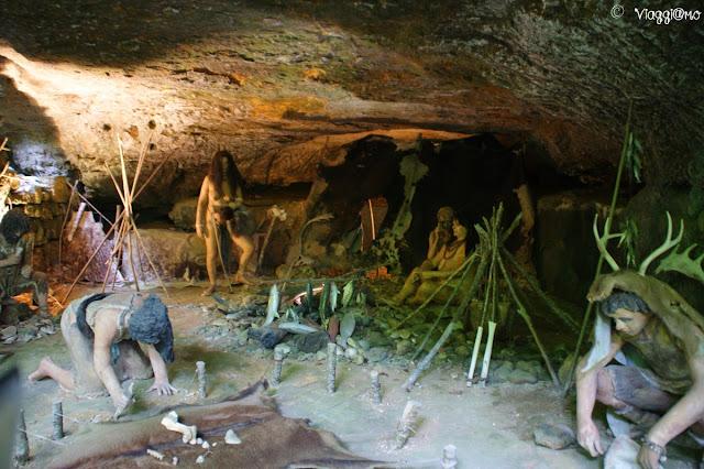 Il sito archeologico delle Grotte du Roc de Cazelle