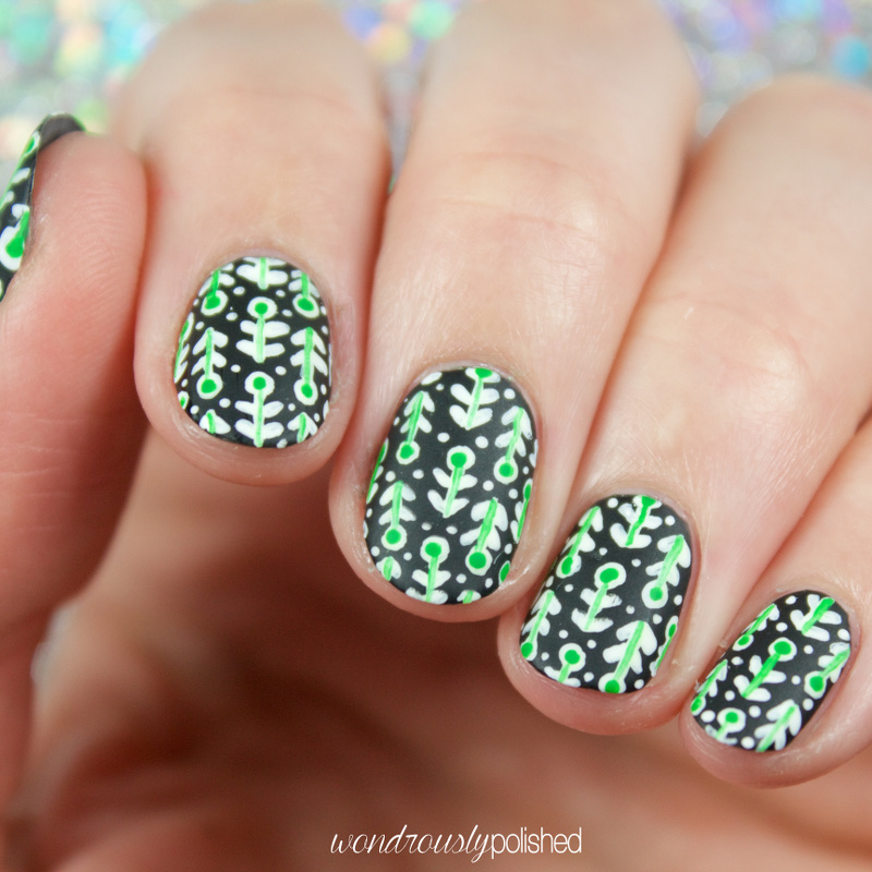 Wondrously polished the digital dozen does spring day 4 retro at first i was really struggling with what to create for todays look i mean its st patricks day there should be tons of inspiration everywhere solutioingenieria Choice Image