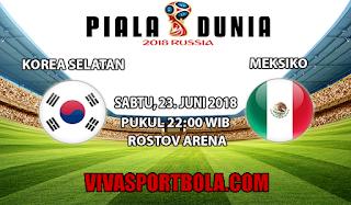 Prediksi Bola Korea Selatan vs Meksiko 23 Juni 2018