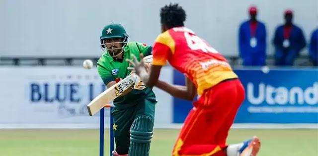 Pakistan Vs Zimbabwe's limited overs series 2020