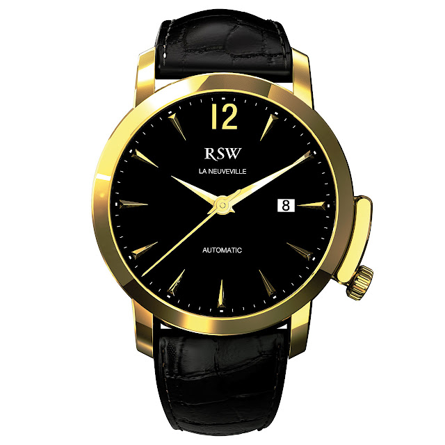 RSW La Neuveville Watch gold