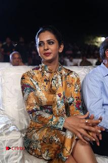 Actress Rakul Preet Singh Stills in Short Dress at Dhruva Pre Release Function  0043.JPG