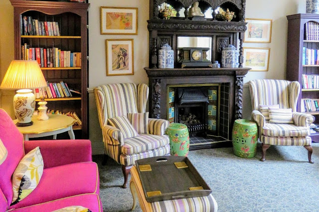 Armchairs at the Emmet Hotel in West Cork Ireland
