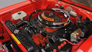 4. American Old Car V8 Engines Hemi Head 426