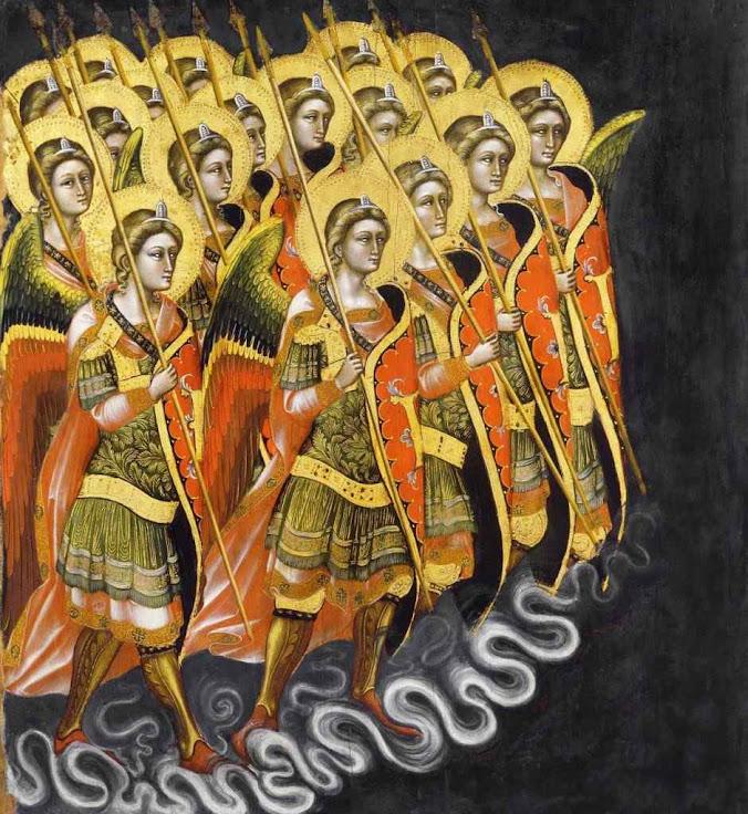 Legião celeste, Guariento di Arpo (1310-1320 - 1368-1370)
