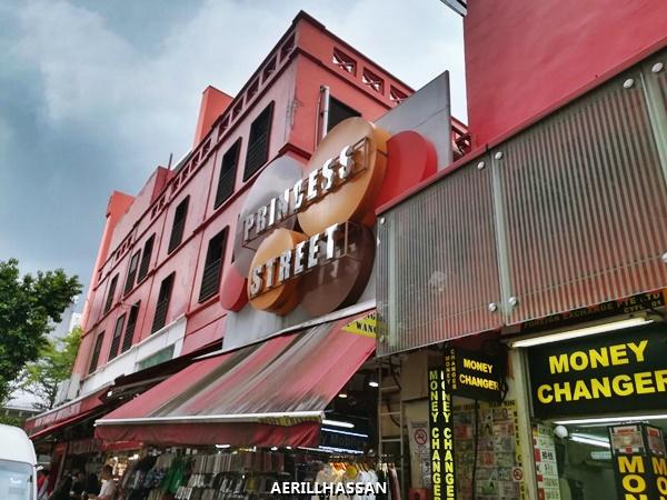 BUGIS STREET & PRINCESS STREET