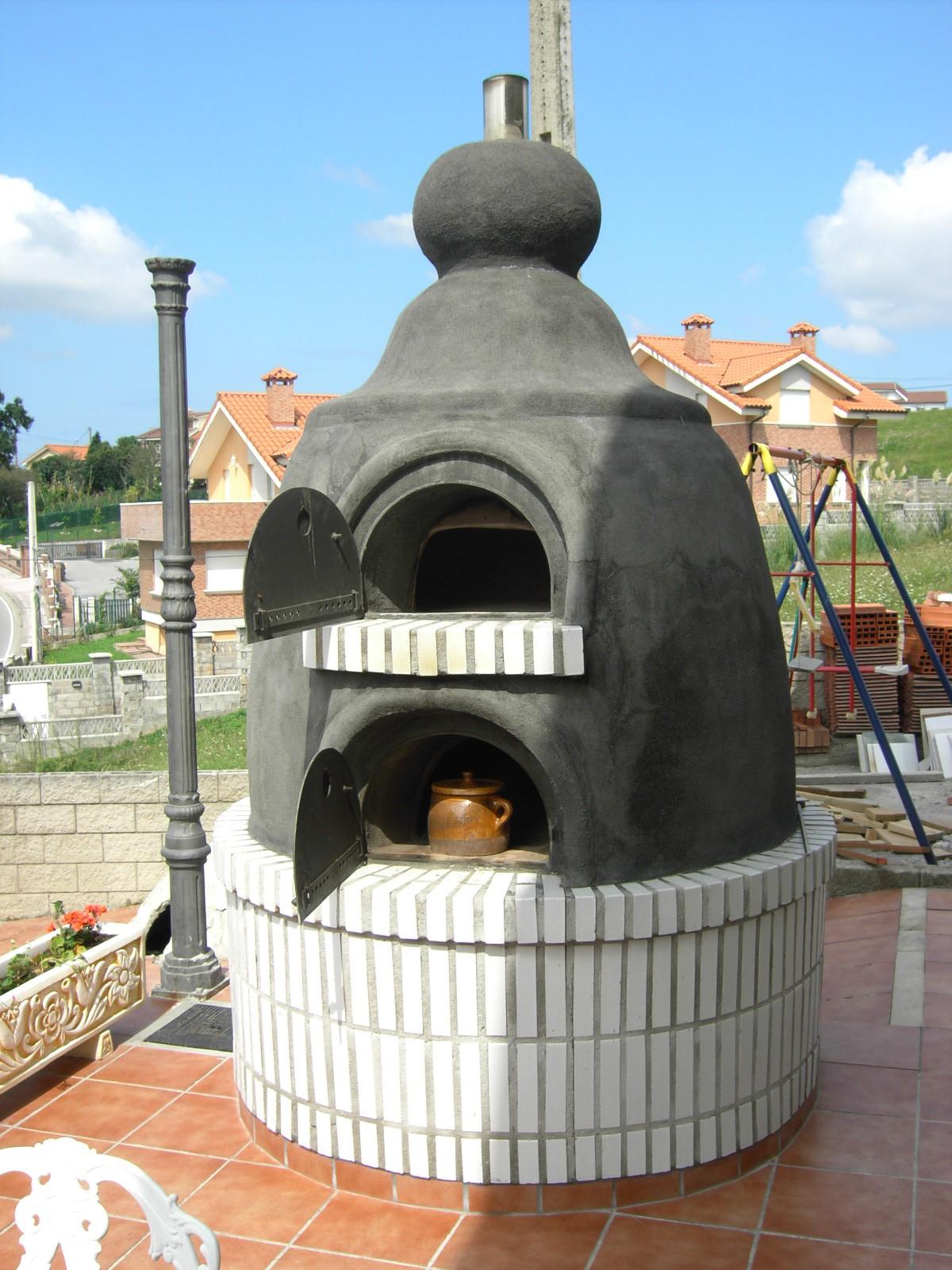 Horno de hornilla en cantabria for Horno de lena con hornilla