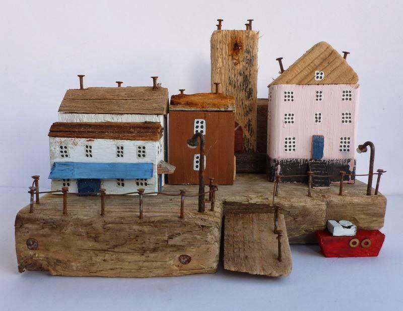 Litle Model Wood Houses Craft