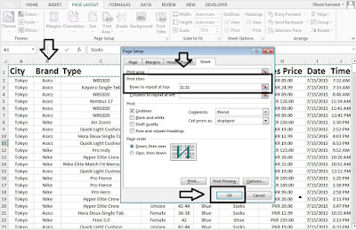 Optimize Page Print in Excel