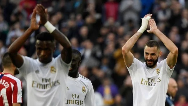 Benzema ends his scoring absence with Real Madrid in the derby