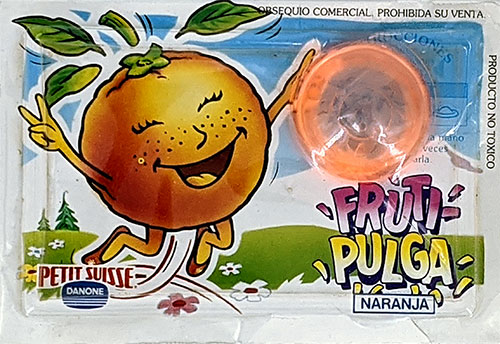 Fruti-Pulgas Danone Naranja