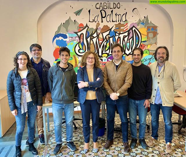 Jóvenes voluntarios europeos colaboran con el Área de Juventud