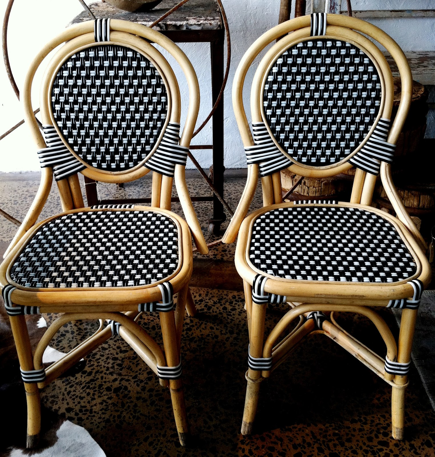 Parisian Cafe Chairs Pottery Barn Hang Around Chair Cover Montreux Trove Trading Co Came And Went