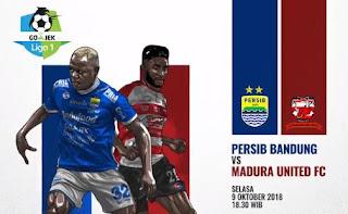 Susunan Pemain Persib Bandung vs Madura United #PersibDay