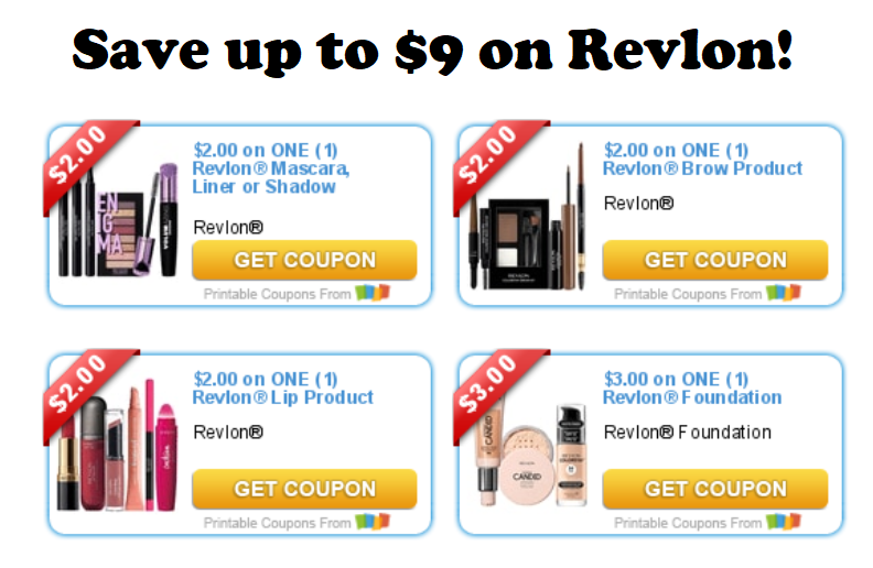 photo regarding Printable Revlon Coupons named Help save up in the direction of $9 upon Revlon® Create Up Discounts and In direction of-Dos