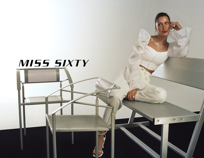 Bella Hadid fronts Miss Sixty spring-summer 2021 campaign