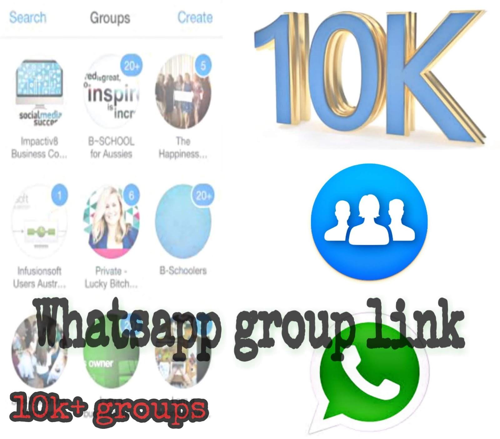 10k+ whatsapp group link join app free download ~ UstaadFx