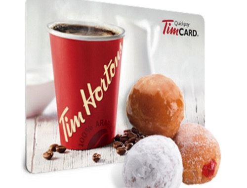 Tim Hortons Gift Card Contest