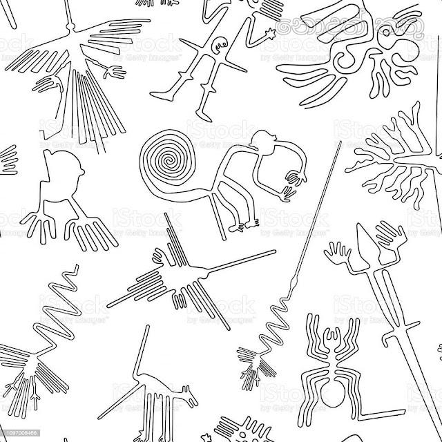 නැස්කා රේඛා (Nazca Lines) 💐📚✍️✍🧝🌞 - Your Choice Way