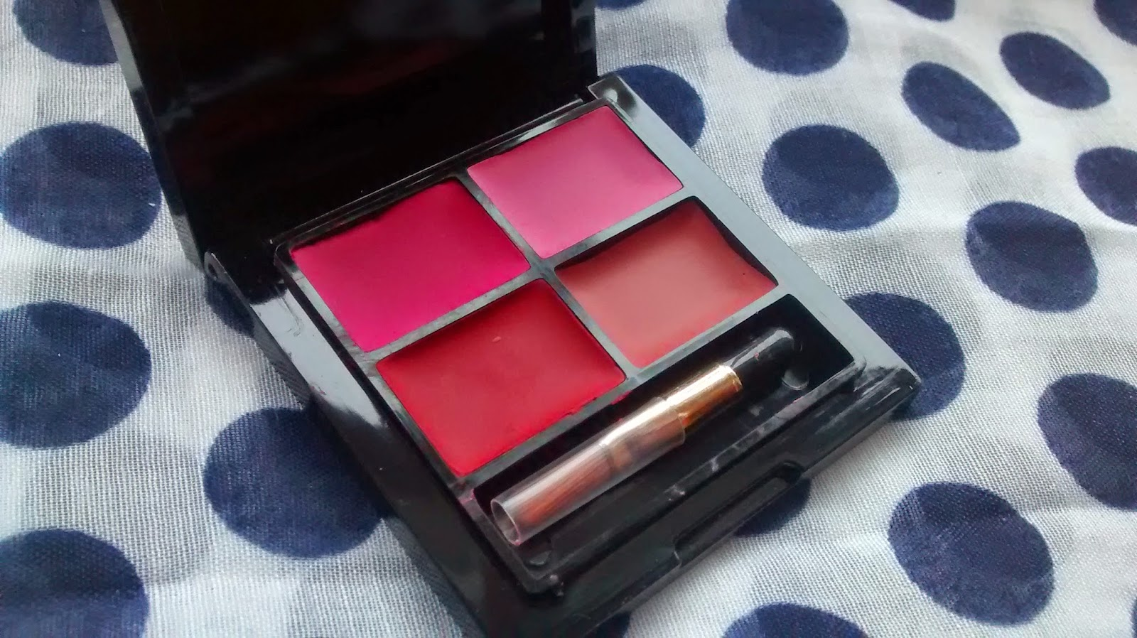 So Susan Rose Quartet Lip & Cheek Palette