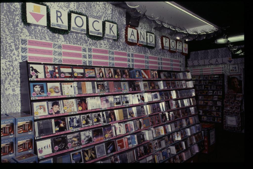 Old record shop p*rn HMV-store-1980s-20