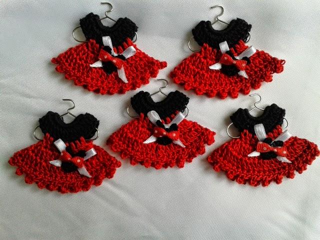 Crochet - Todo el Arte del Ganchillo: Souvenir Minnie Mouse