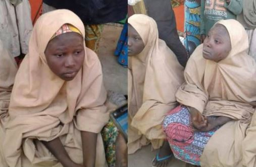 Photos of Dapchi School Girls Released by Boko Haram