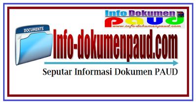 Kumpulan Administrasi Guru TK PAUD Tahun Pelajaran 2018/2019