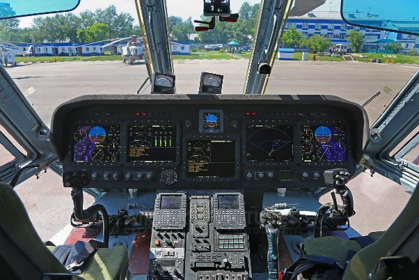 Mil Mi-38 cockpit