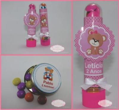 adesivos de ursinhos pra meninas