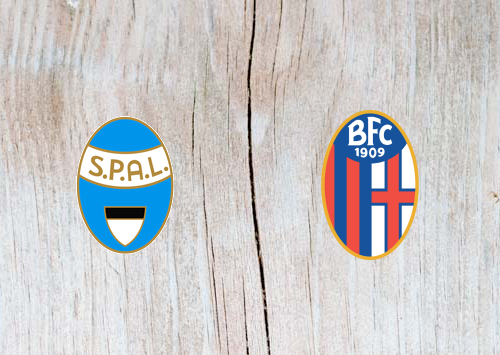 SPAL 2013 vs Bologna - Highlights 20 January 2019