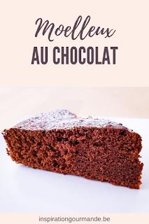 Recette du moelleux au chocolat