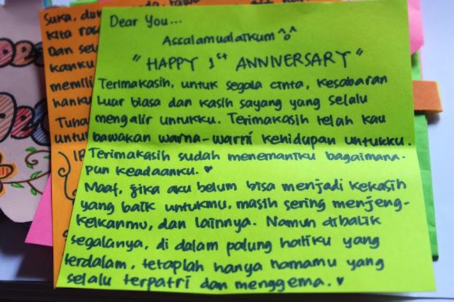 I M Your Secret Admirer Happy Anniversary Sayang
