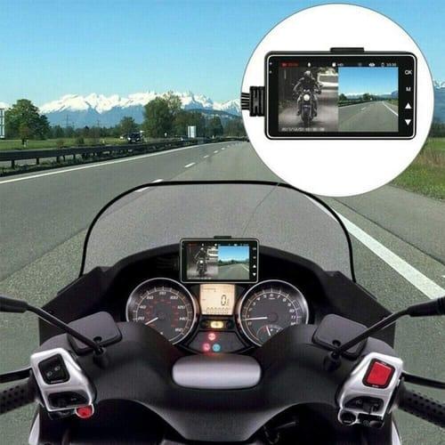 Review Motorcycle Night Vision  Camera Dash Cam