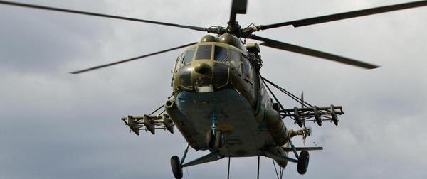 Міноборони скасувало наказ що дозволяв застосовувати гелікоптери і техніку проти бандитських угрупувань