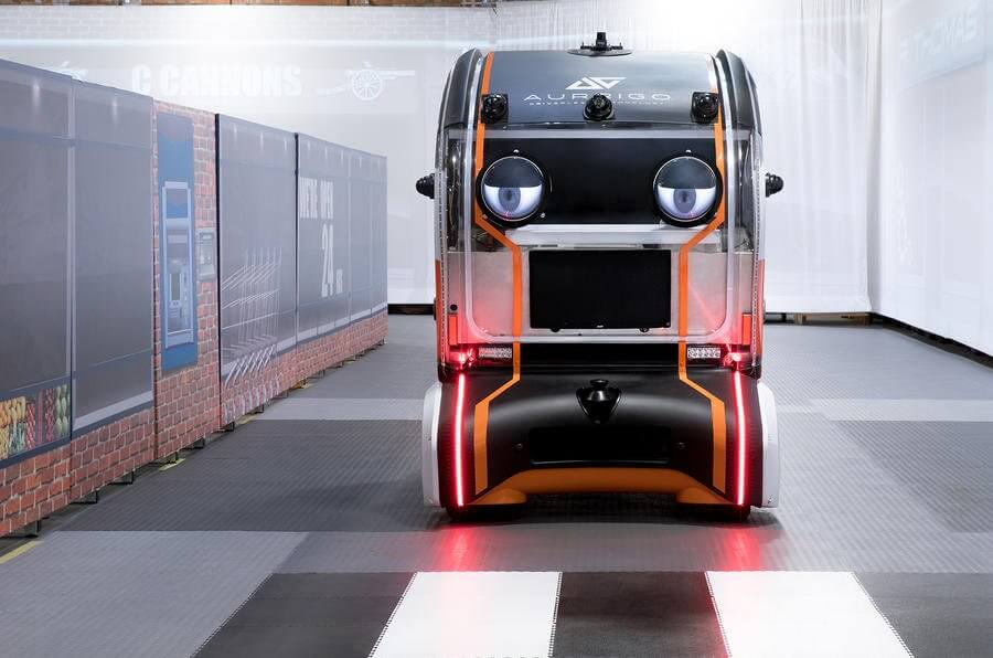 Jaguar Land Rover's Autonomous Pods With Extensive Human-Like Eyes