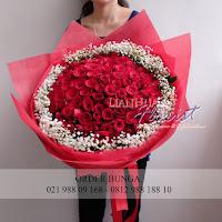 Hand bouquet murah, hand bouquet bunga, toko bunga di jakarta utara,