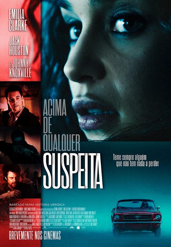 Emilia Clarke Regressa aos Cinemas Com Filme de Ação Acima de Qualquer Suspeita