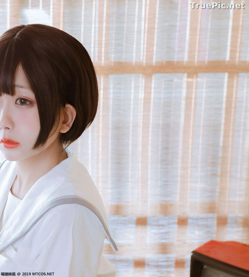 Image [MTCos] 喵糖映画 Vol.039 – Chinese Cute Model – Japanese School Uniform - TruePic.net - Picture-10