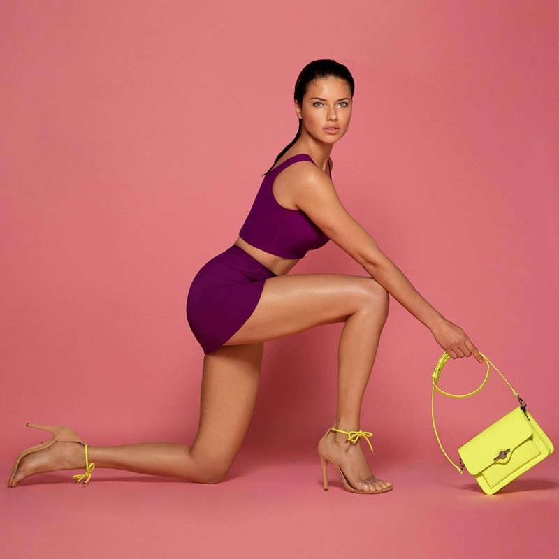 Adriana Lima for Schutz Resort 2019