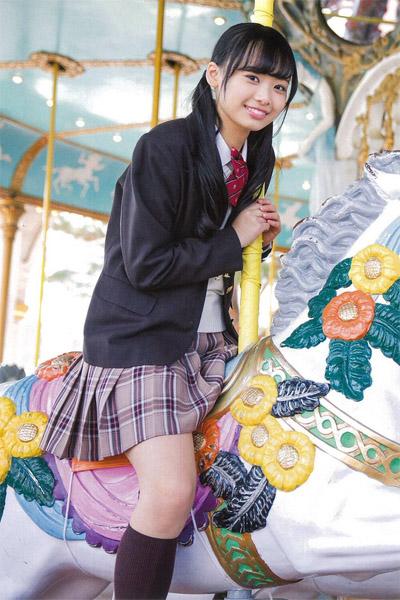 Hiyori Hamagishi 濱岸ひより, Graduation 2018 中学卒業 (TOKYO NEWS MOOK 699号)