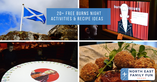 20+ Free Burns Night Activities & Recipe Ideas