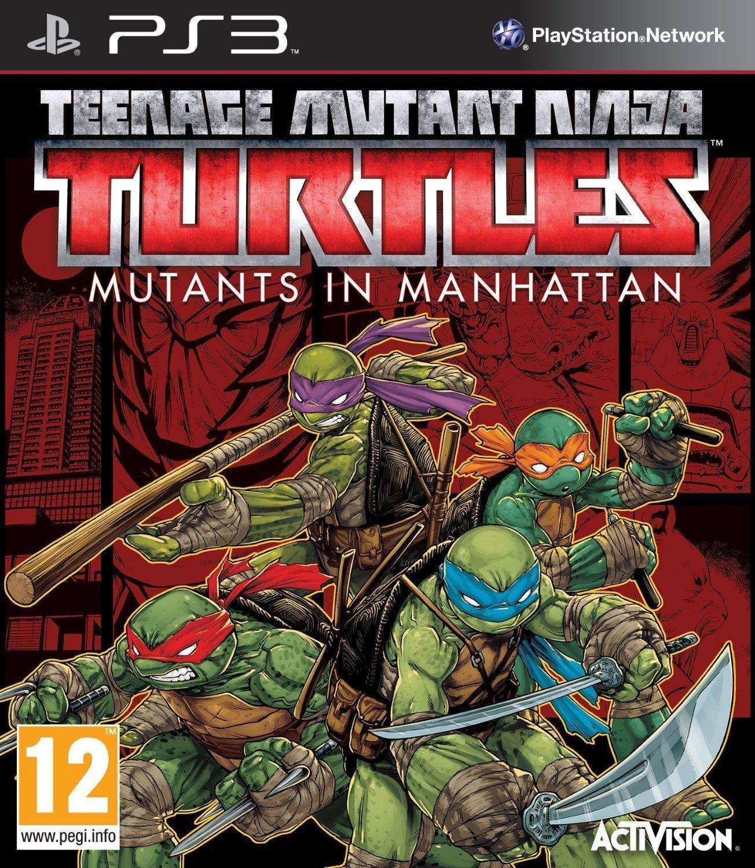 تحميل لعبة سلاحف النينجا للبلاي ستيشن Teenage Mutant Ninja Turtles Mutants in Manhattan PS3