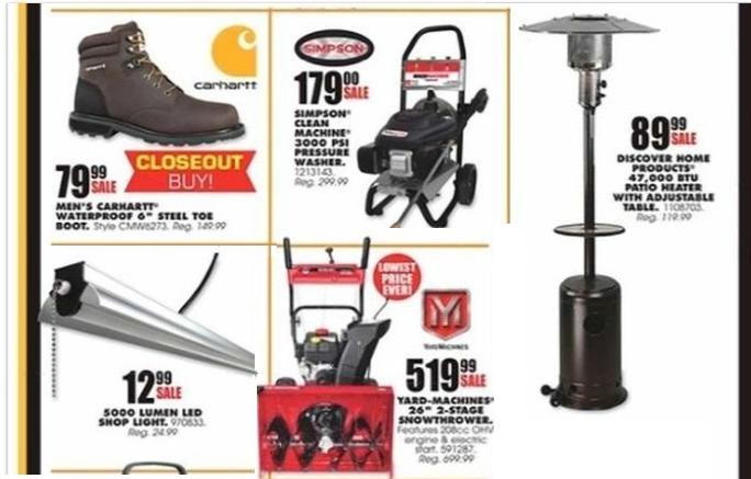 Blain's Farm & Fleet Black Friday tools 2018 ad