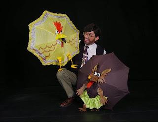 De Sombras y Sombrillas en el Teatro Hilos Mágicos