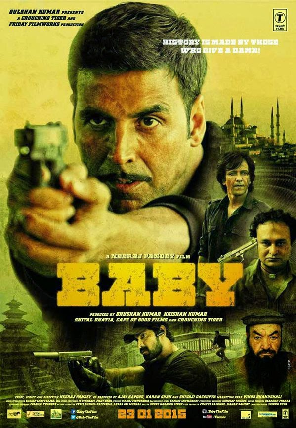 Akshay Kumar as soldier in Baby Movie poster