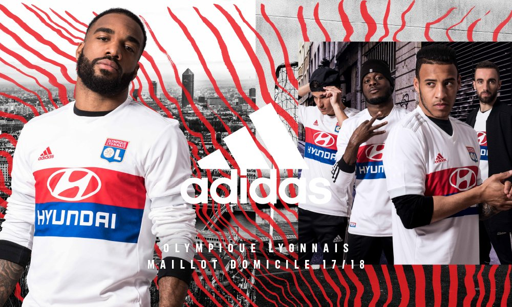 Exceptionnel Lyon 17-18 Home Kit Released - Footy Headlines QH83